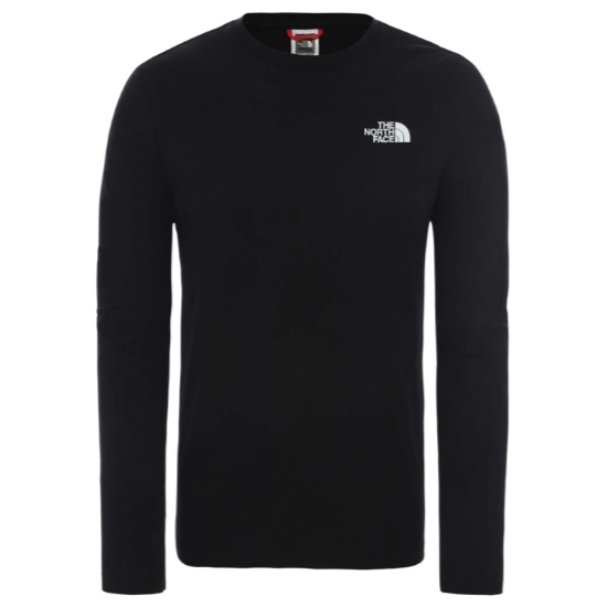 The North Face Red Box LS Tee - TNF Black