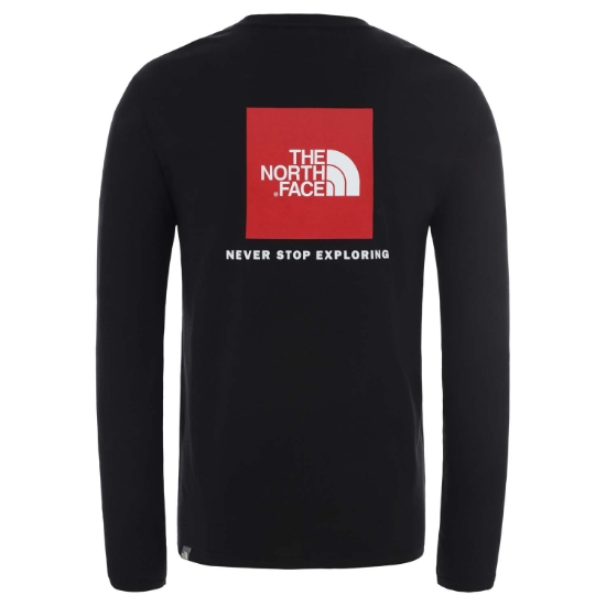 The North Face Red Box LS Tee - Photo of detail