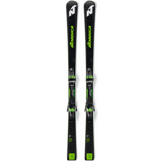 Nordica Dobermann Spitfire 76 RB FDT + Xcell 12 FDT - Black/Green