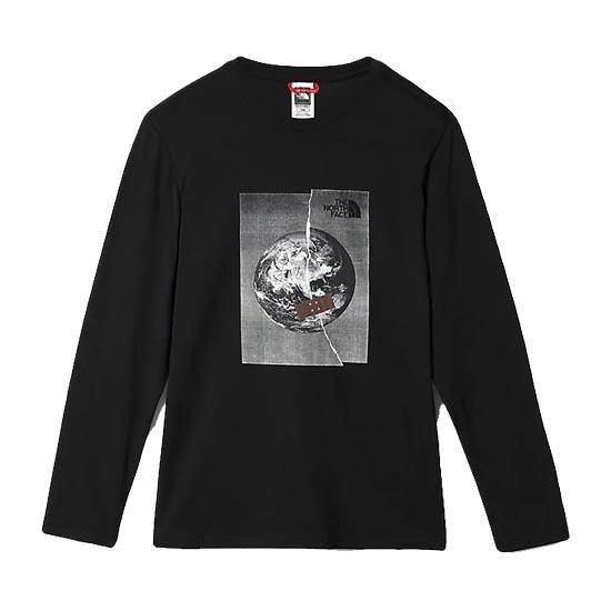 The North Face L/S Graphic Tee - Tnf Black/Tnf White