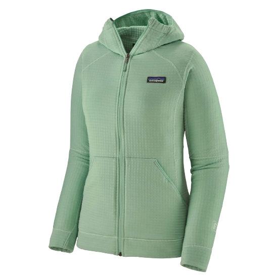 Patagonia R1 Full-Zip Hoody W - Gypsum Green