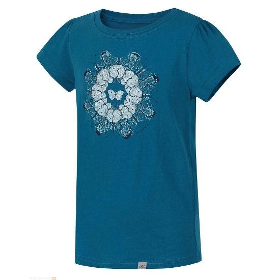 Hannah Poppy Shirt Jr - Algiers Blue