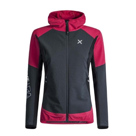 Montura Wind Resolution Hoody Jacket W - Nero/Sugar