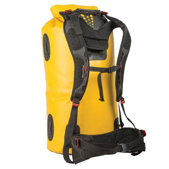 Sea To Summit Hydraulic Dry Pack W/Harness 120L - Yellow