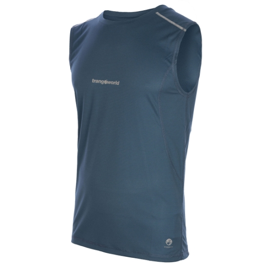 Trangoworld Camiseta Noja - Azul Ceramica
