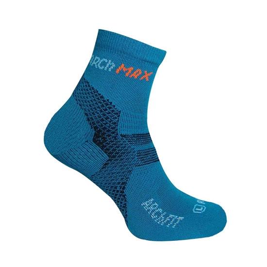 Arch Max ArchFit Run Short Socks - Blue
