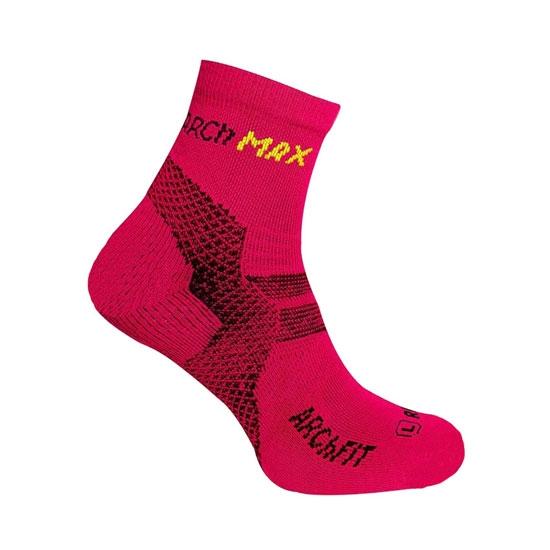 Arch Max ArchFit Run Short Socks - Pink Fluor