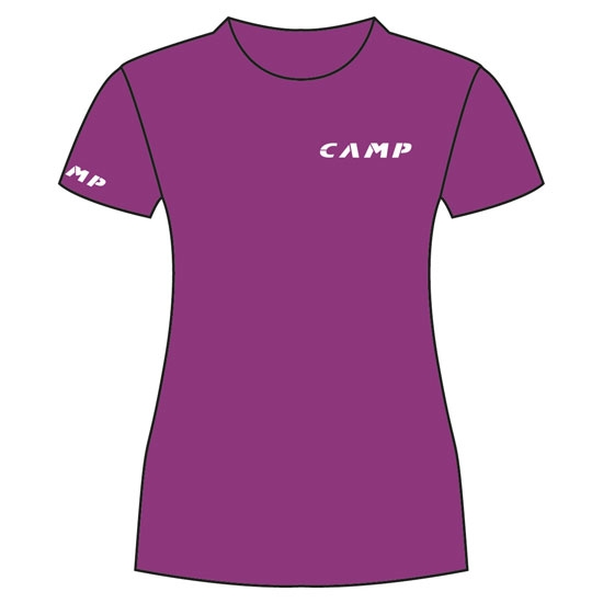 Camp Institutional Tee W - Violet