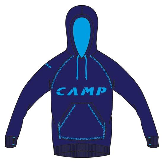 Camp Hoodie Camp - Blue