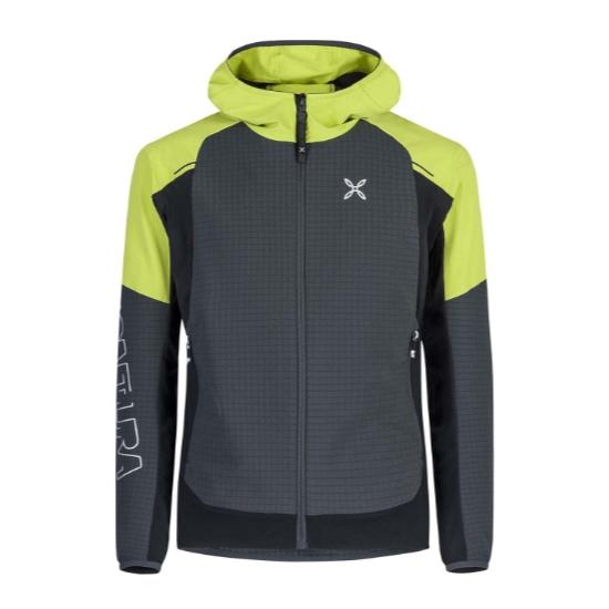 Montura Wind Revolution Hoody Jacket - Piombo/Lime