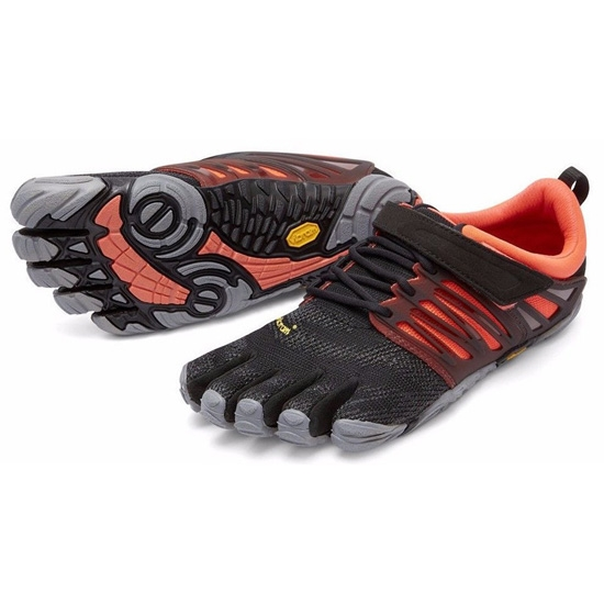 Fivefingers V-Train W - Black/Coral/Grey