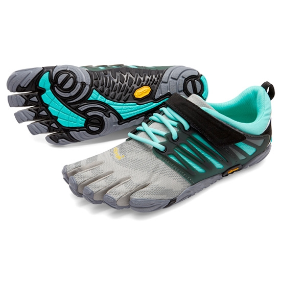Fivefingers V-Train W - Grey/Black/Aqua