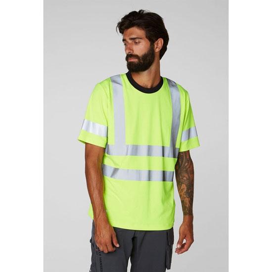 Helly Hansen Workwear Addvis T-Shirt HI-VI - Foto de detalle