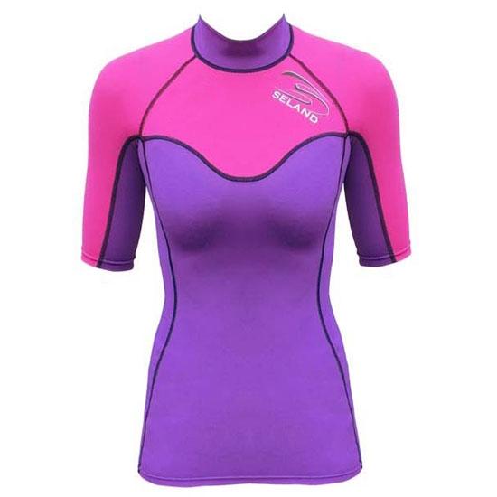 Seland Camiseta Elastán W - Purple/Pink