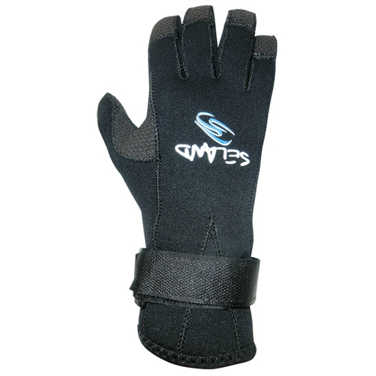 Seland Guantes de neopreno 3 mm - Black