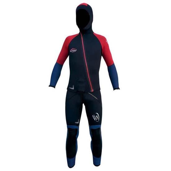 Seland Aneto Neopreno (traje completo) - Red/Blue