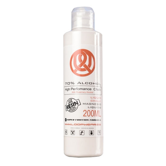 Loopwear Liquid Chalk 70% alcohol 200ml -