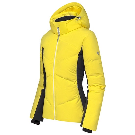 Descente Asienna Down Jacket - Yellow/Black