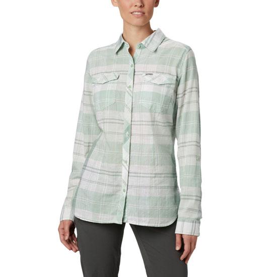 Columbia Camp Henry II Ls Shirt W - New Mint Large