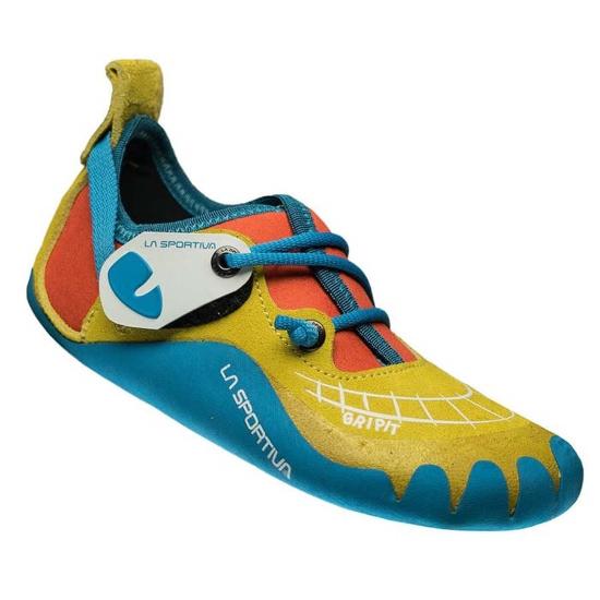 La Sportiva Gripit Jr - Yellow/Flame