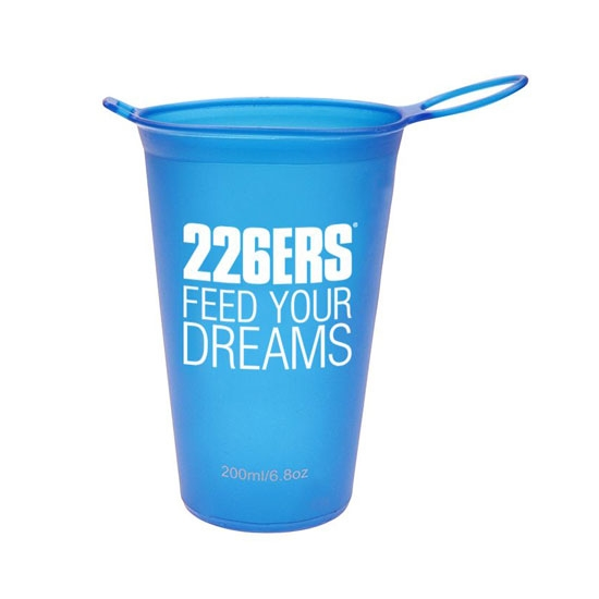 226ers Soft Flask Cup - Blue