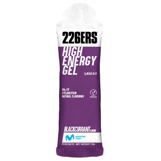 226ers High Energy Gel 60 ml Blackcurrant -