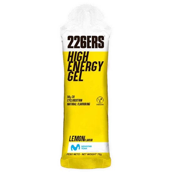 226ers High Energy Gel 60 ml Lemon -