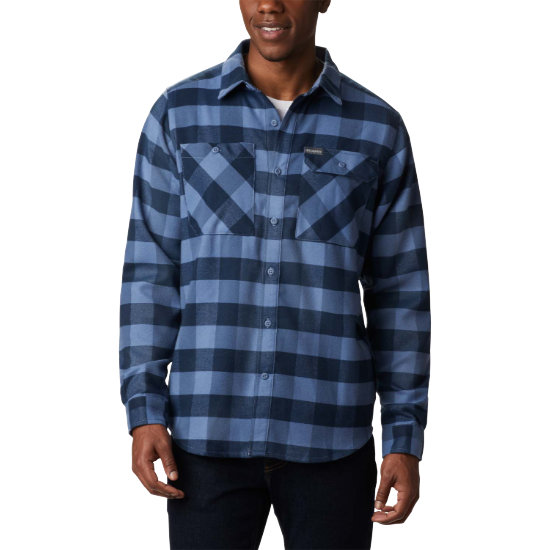 Columbia Outdoor Elements Stretch Flannel - Blue