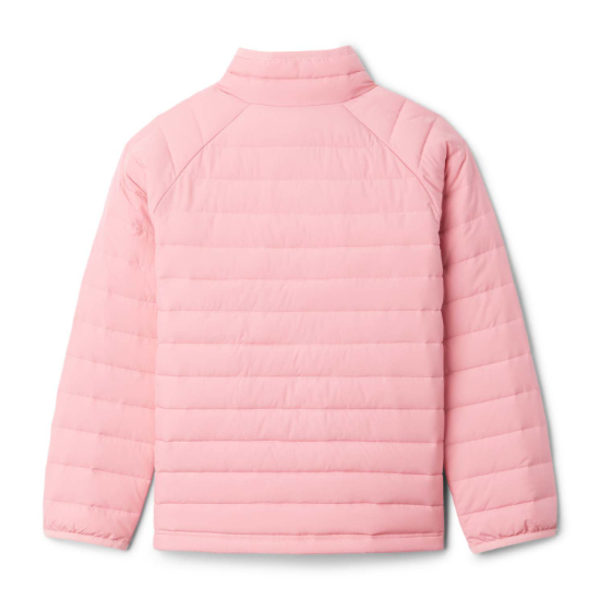 Columbia Powder Lite Jacket Girls - Photo of detail
