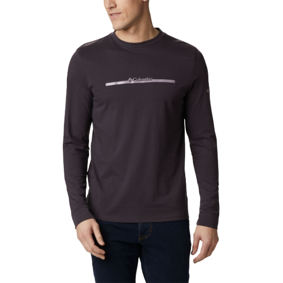Columbia Columbia Lodge Ls Graphic Tee - Purple