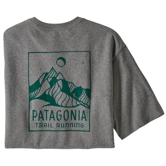 Patagonia Ridgeline Runner Responsibili-Tee - Gravel Heather