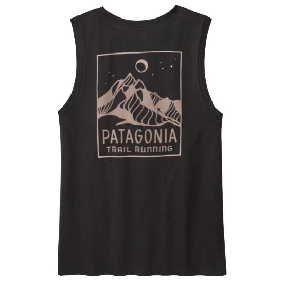 Patagonia Ridgeline Runner Organic Muscle Tee W - Black