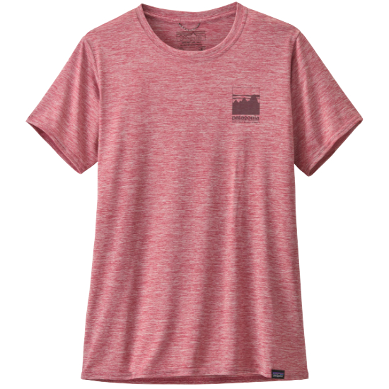 Patagonia Capilene Cool Daily Graphic Shirt W - Alpine Icon/Star Pink