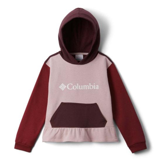 Columbia Park Hoodie Girl - Red
