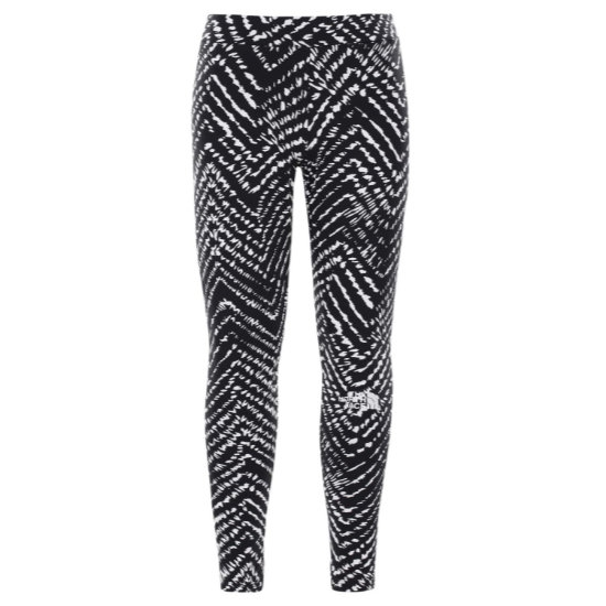 The North Face Cotton Blend Legging Big Logo Girl - Tnfblack