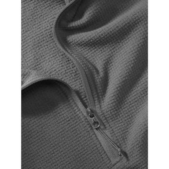 Arc'teryx Delta LT Zip Neck - Photo of detail