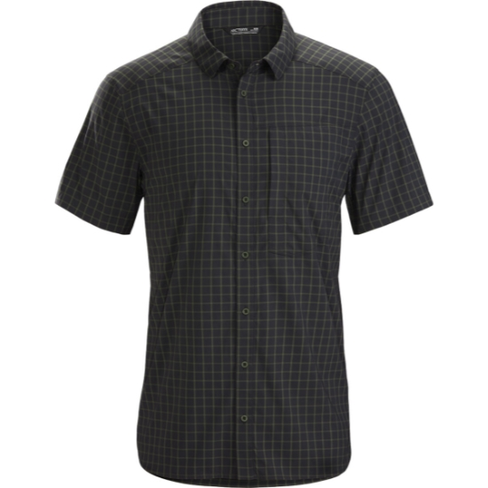Arc'teryx Riel Shirt SS - Black/Tatsu