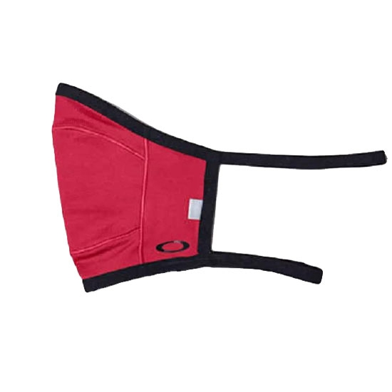 Oakley Cloth Face Covering Fitted Light - Rubin Red