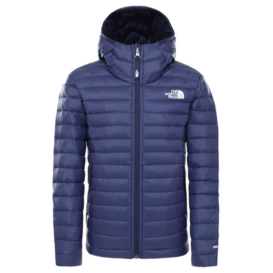 The North Face Aconcagua Down Hooded Jacket Boy -  Tnf Navy