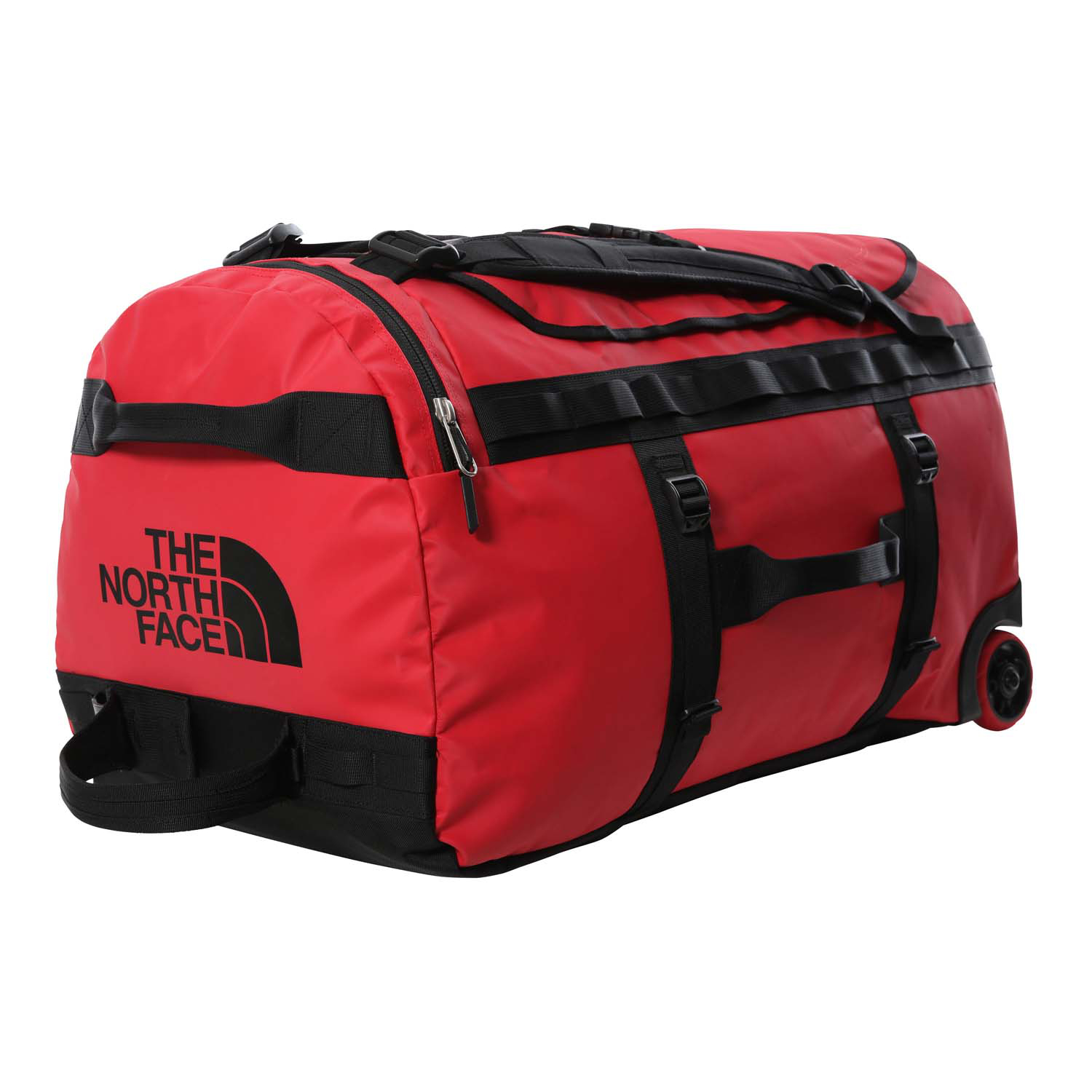 The North Face Base Camp Duffel Roller - Tnf Red