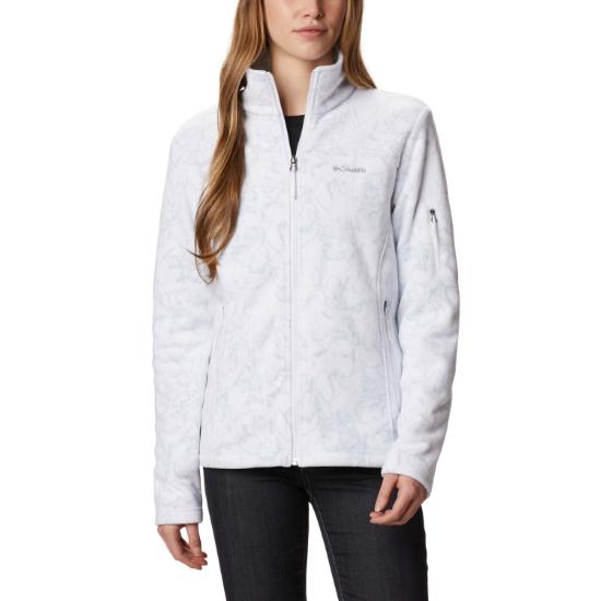 Columbia Fast Trek Printed Jacket W - White