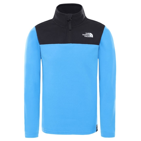 The North Face Glacier Quarter Zip Youth - Clear Lake