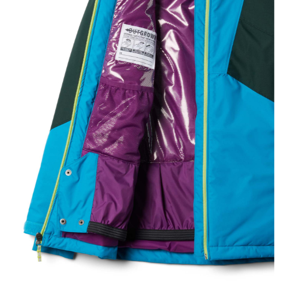 Columbia Alpine Diva Jacket Gilrs - Photo of detail