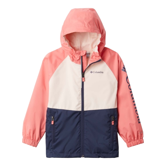 Columbia Dalby Springs Jacket Girl - Nocturnal/Peach Quart