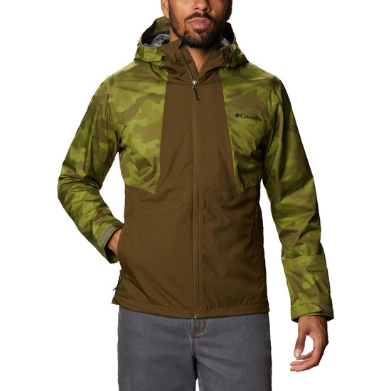 Columbia Inner Limits II Jacket - New Olive/Matcha Spotted Camo