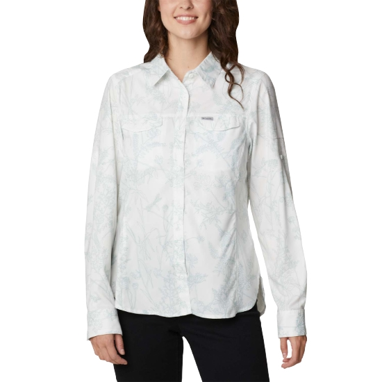 Columbia Silver Ridge Lite Plaid Shirt W - White Art Bouquet