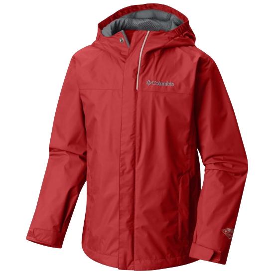 Columbia Watertight Jacket Boy - Mountain Red