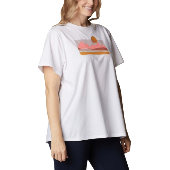 Columbia Sun Trek Graphic Tee W - White