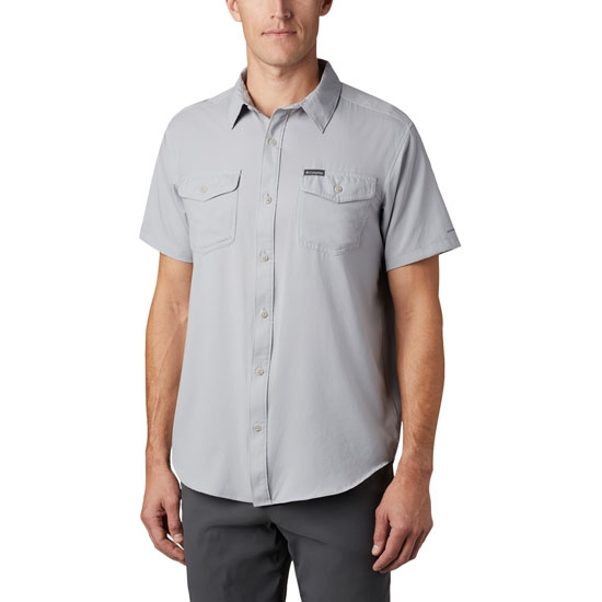 Columbia Utilizer II Solid Ss Shirt - Columbia Grey
