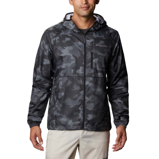 Columbia Flash Forward Windbreaker Print - Black